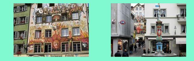 Svizzera 4 cantoni for Casa moderna zurigo
