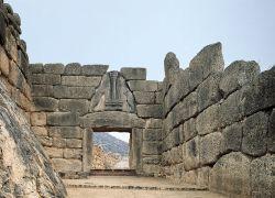 Grecia mitologica e isole omeriche - La porta dei leoni a micene ...